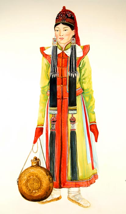 Как сшить алтайский национальный костюм 68