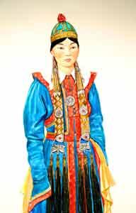 find mongolian women