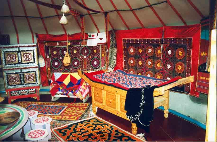 High Altai Yurte Ger Tshum Summerhouse Albis